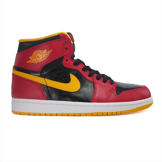 c615ae385 Nike Air Jordan 1 Retro High OG - Black Gym Red-University Gold 05 09 2013